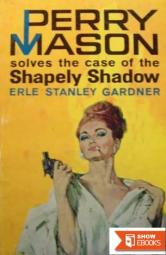 Case of the Shapely Shadow (Curley Large Print Books)