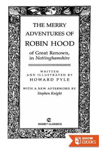 The Merry Adventures of Robin Hood: (Howard Pyle Classics Collection)