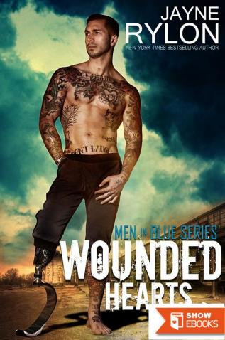 Wounded Hearts: Men in Blue, Book 5